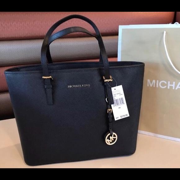 fd31ff0af520 Michael Kors Bags | New 278 Jet Set Travel Mk Handbag | Poshmark